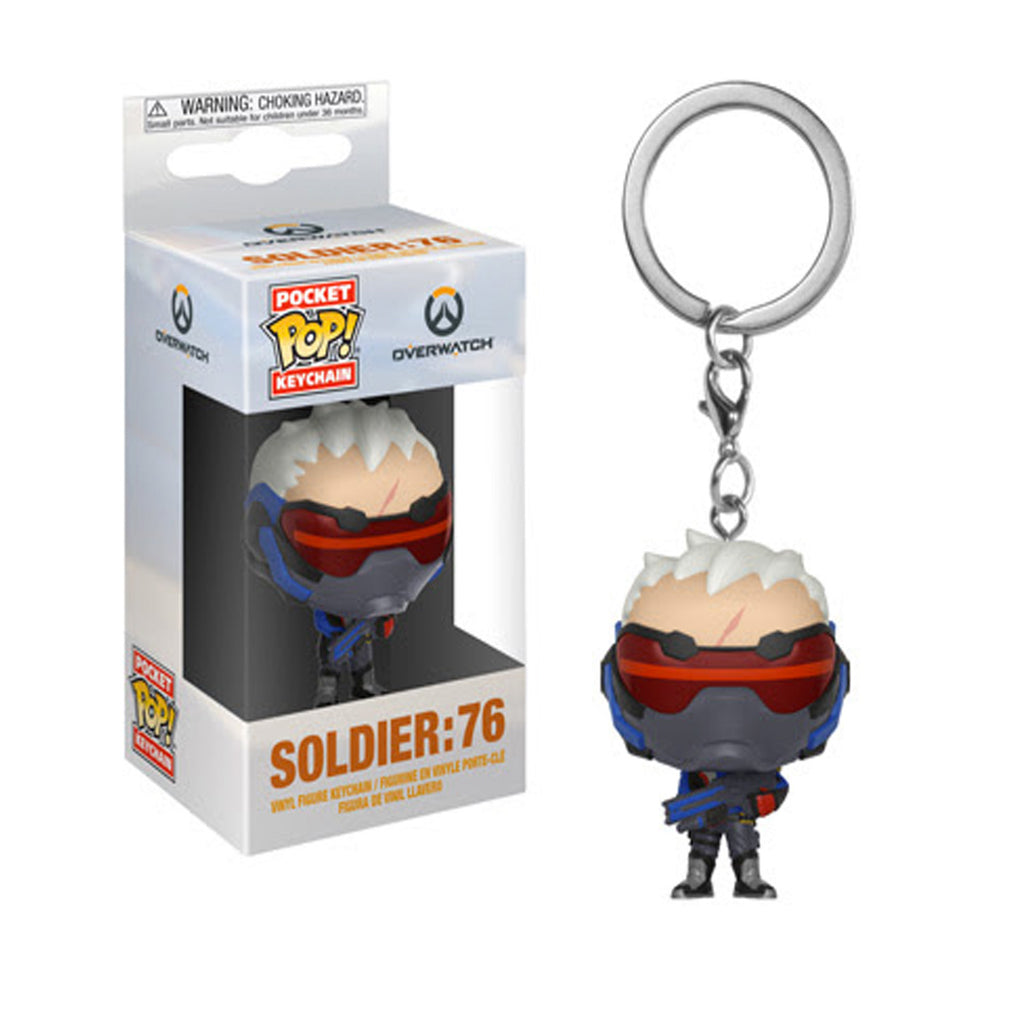 Funko Overwatch Soldier:76 Pocket Pop! Keychain (Pre-order ships September 2018)