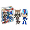 Funko Marvel Vs. Capcom: Rocket Vs. Mega Man X POP! Vinyl Figure 2 Pack (Pre-order Ships in November)