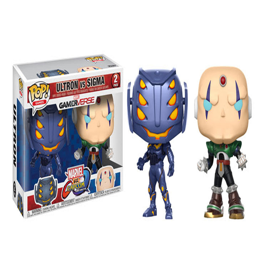 Funko Marvel Vs. Capcom: Ultron Vs. Sigma POP! Vinyl Figure 2 Pack