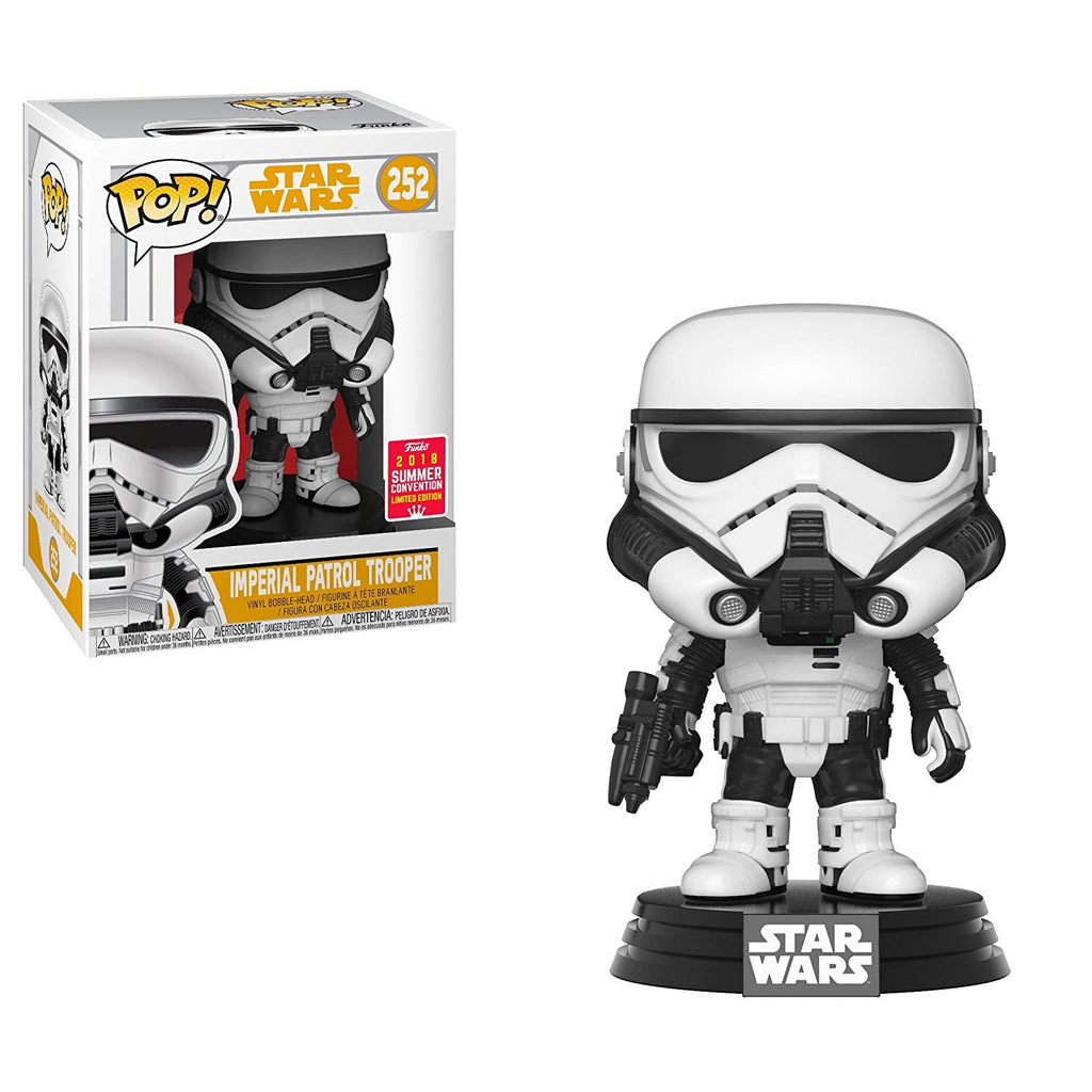 Funko Star Wars Imperial Patrol Trooper POP! Vinyl Figure SDCC Exclusive Shared Sticker