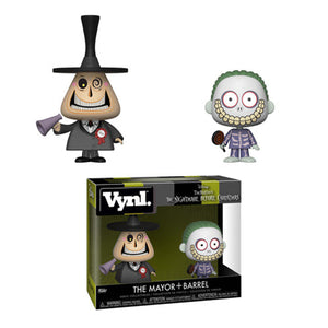 Funko Nightmare Before Christmas The Mayor & Barrel Vynl Figure 2 Pack (Pre-order Ships in November 2018)