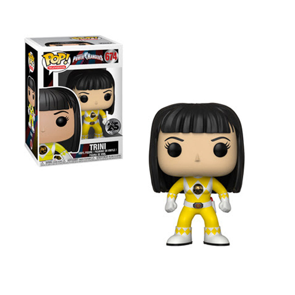 Funko Power Rangers Yellow Ranger Trini POP! Vinyl Figure #674 (Pre-order Ships October 2018)