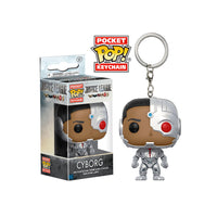 Justice League Cyborg Pocket Pop! Key Chain