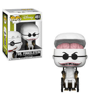 Funko Nightmare Before Christmas Dr. Finkelstein POP! Vinyl Figure #451 (Pre-order Ships December 2018)