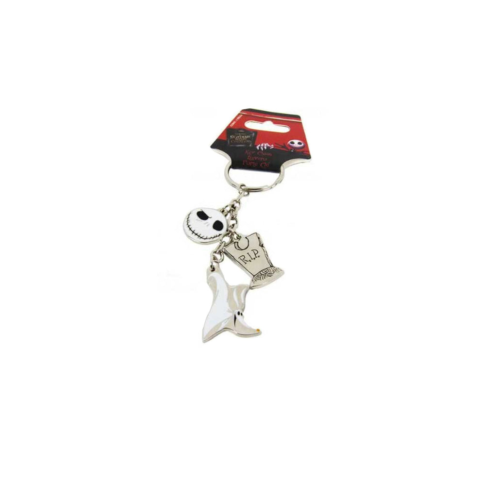 Disney Bones Nightmare Before Christmas Jack Skellington Charms Key Chain