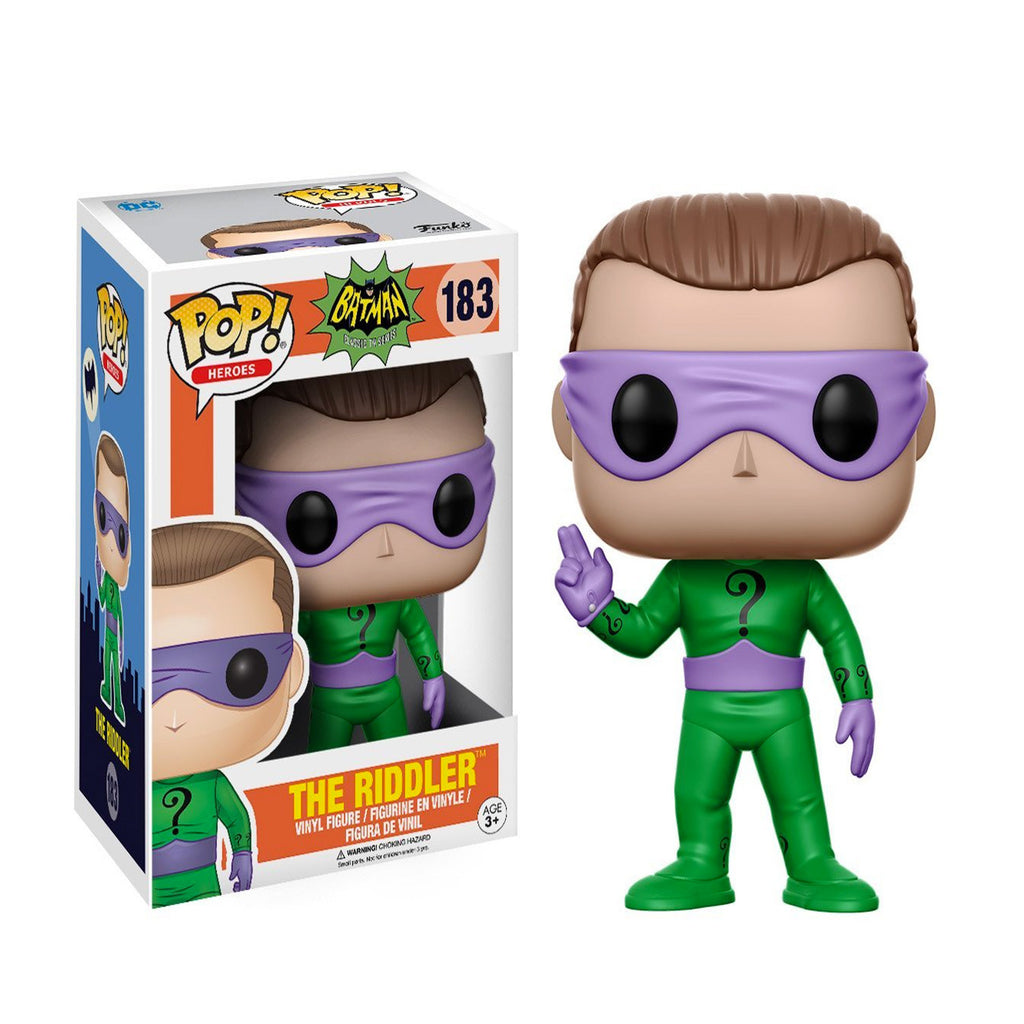 Funko Batman Classic TV Series Riddler POP! Vinyl Figure