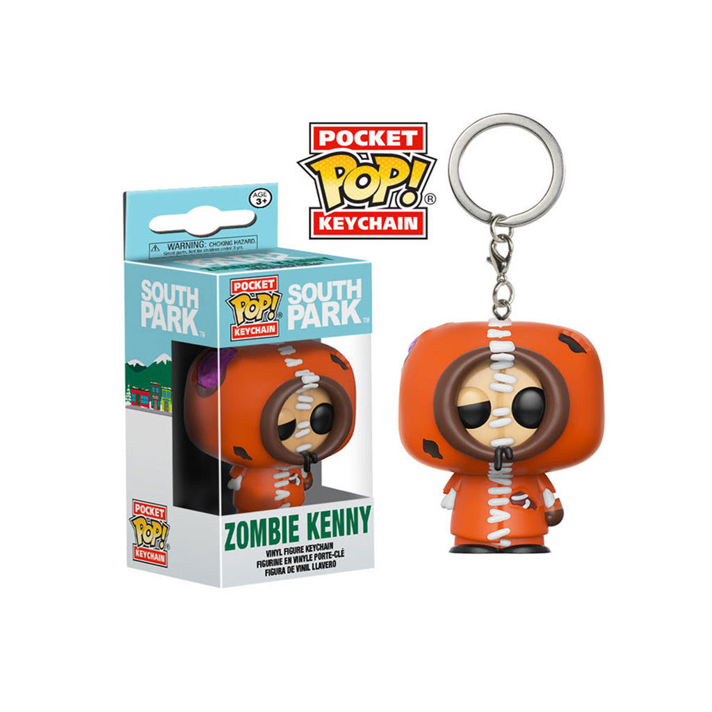 South Park Zombie Kenny Pocket Pop! Key Chain