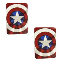 Marvel Captain America Vanilla Air Freshener 2-Pack - Gear N' Bits - 1