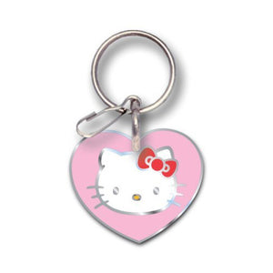 Hello Kitty Hearts Key Chain - Gear N' Bits