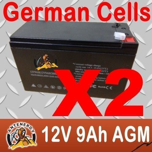 Heavy Duty 12V 9Ah Agm Deep Cycle Battery Generator,Motorcycle,Boat,Garden