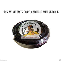 10m METER 6mm TWIN CORE DOUBLE INSULATED CABLE COPPER HIGH QUALITY DC-DC Dual