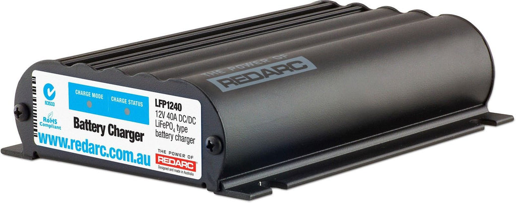 REDARC LFP1240 LITHIUM BATTERY DUAL ISOLATOR  DC TO DC CHARGER BUNDLE SALE!