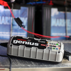 NOCO Genius G7200 12V/24V 7.2A UltraSafe Smart Battery Charger AGM lead-acid