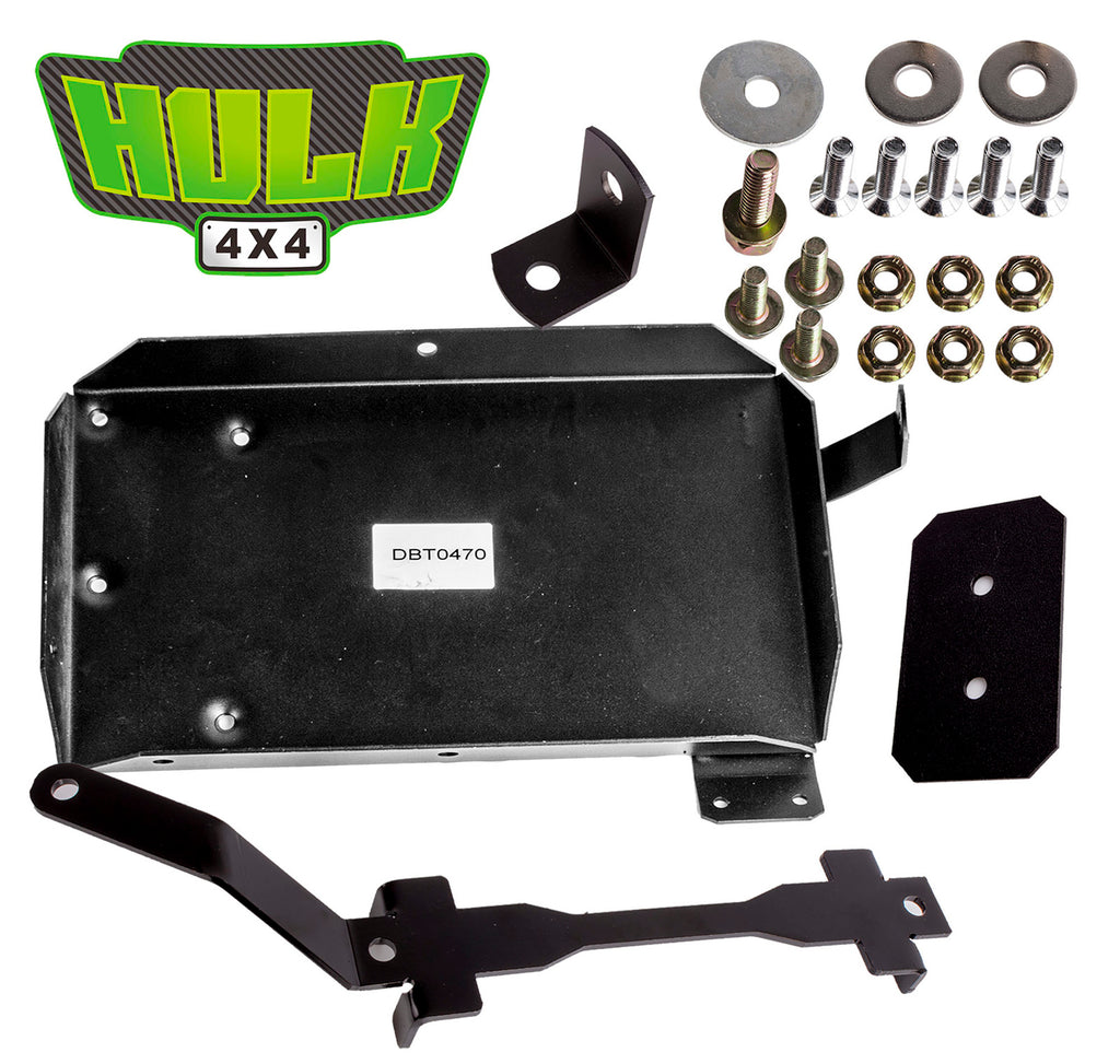 Hulk 4x4 Dual Battery Tray-Suits Toyota Prado 120 Series 3.0L 2003-2009 DBT0470