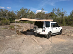 ANTENERGY SKYWING AWNING LEFT HAND BATWING FOXWING type RACK 4X4 4WD 2.5m
