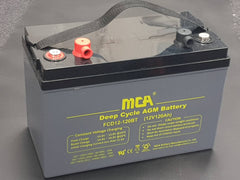 MCA 12V 120AH AGM DEEP CYCLE BATTERY for CARAVAN SOLAR CAMPING MARINE