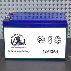 HEAVY DUTY 12V 12AH AGM DEEP CYCLE BATTERY Generator,Motorcycle,Boat,Garden