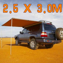 ANTENERGY 2.5m X 3.0m AWNING ROOF TOP TENT CAMPER 4WD 4X4 SIDE CAMPING CAR RACK Pull Out