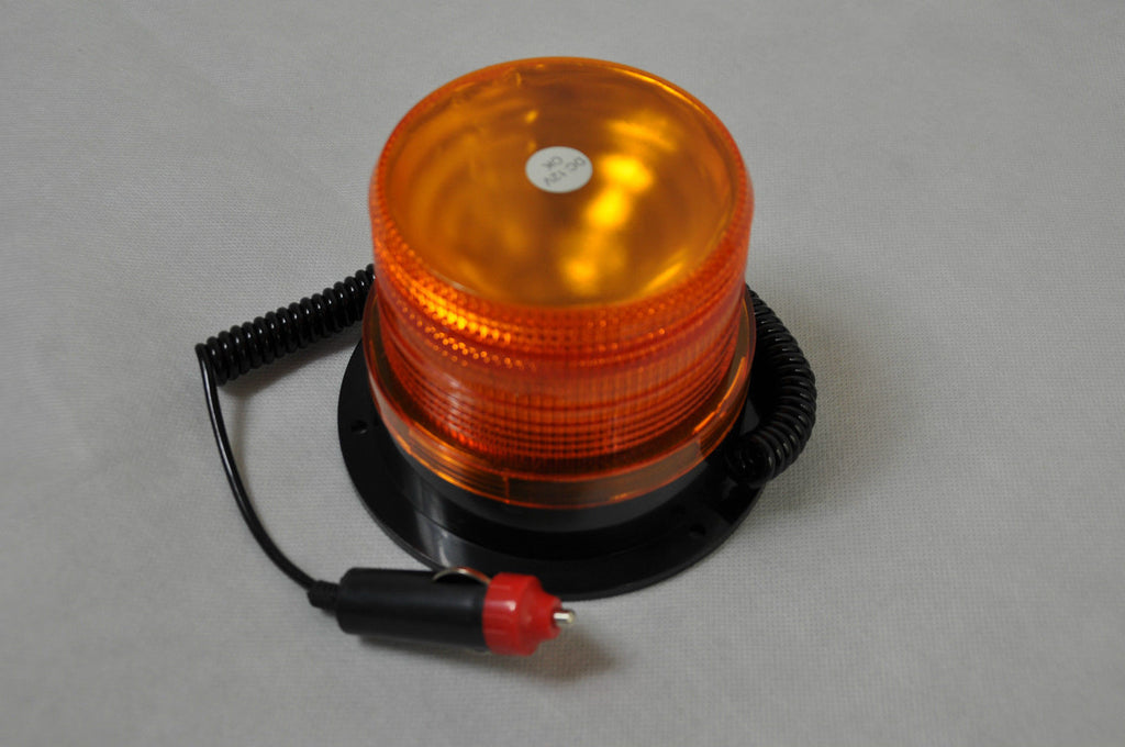 27 LED 12V BEACON REVOLVING Flashing Emergency WARNING LIGHT Amber 4X4 CARAVAN
