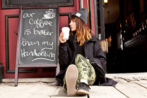 Laura Lawson Visconti in Nikita Clothing Coffee
