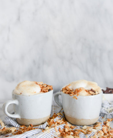 Homemade Coconut Latte