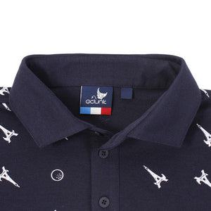 PRINTED COLLARED SHIRT