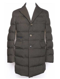 DOWN CHESTERFIELD COAT