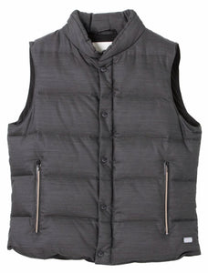 STAND COLLAR DOWN WAIST COAT