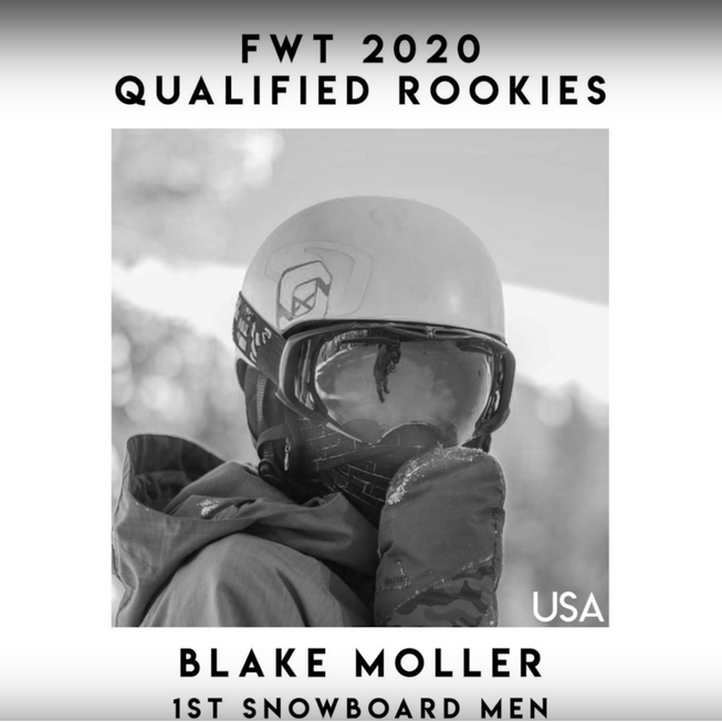 Rookie Blake Moller Added to the FWT!