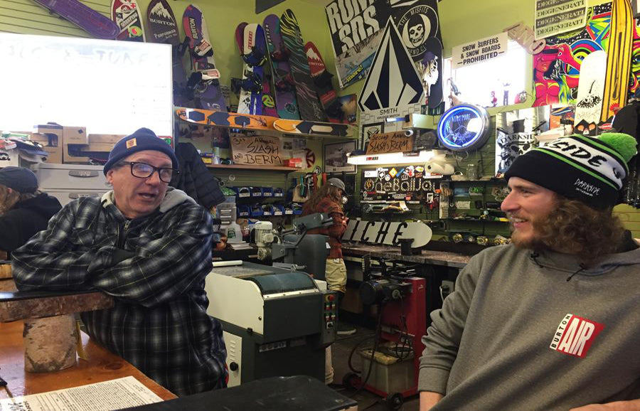 Along For The Ride: Darkside Snowboards' Slash and Berm