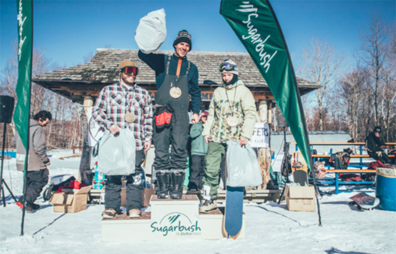 Ralph Kucharek Wins Sugarbush SideSurfers Banked Slalom