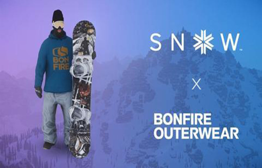 Bonfire Outerwear Featured in SNOW Video Game