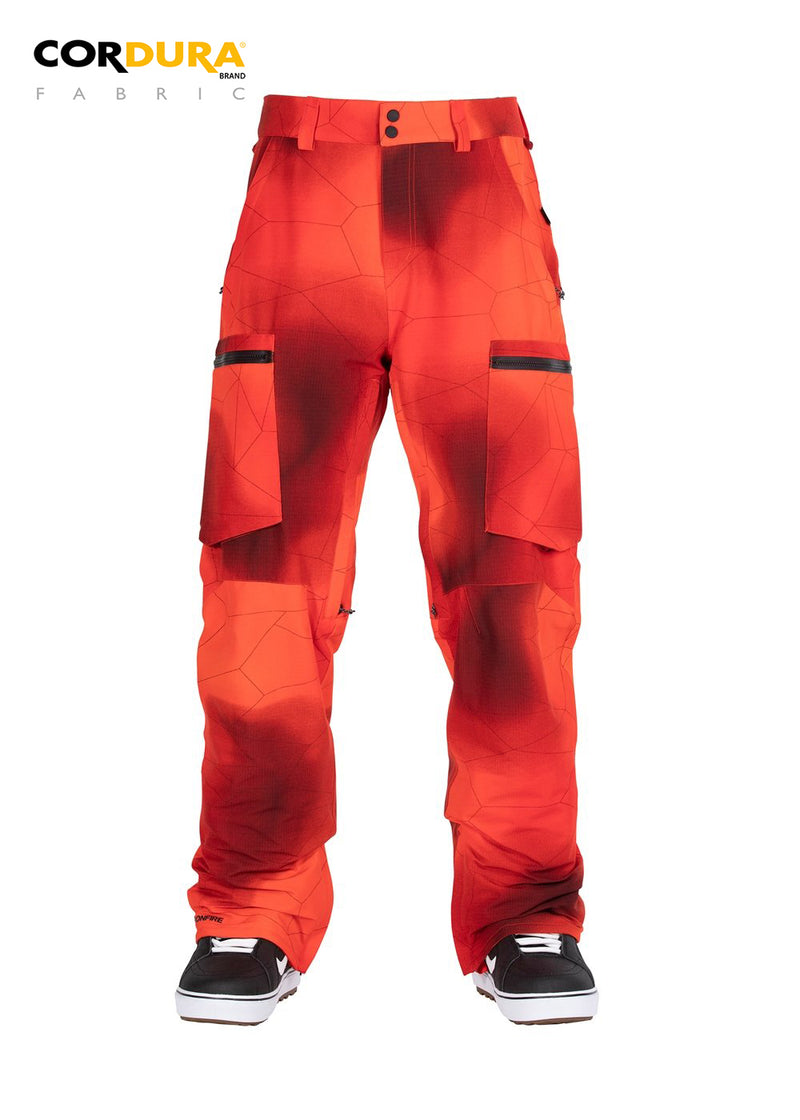 TORCH 2L STRETCH PANT - LAVA PRINT