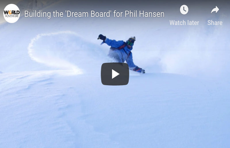 Phil Hansen Rips Mt. Baker In Subaru Commercial