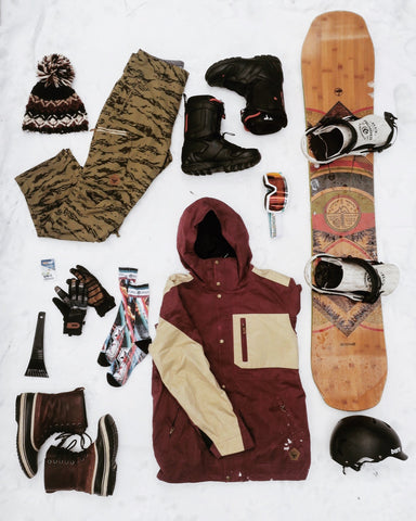 Sessions Tahve Jacket, Sessions Shiner Pants, Sessions Outerwear, Arbor Snowboards, Flux Bindings, Bern Helmets