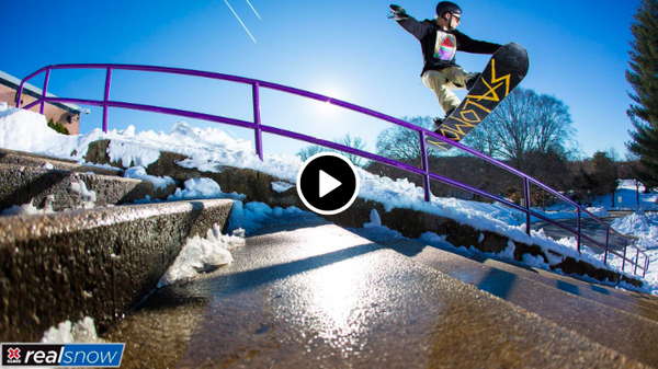 Sessions Outerwear, Jesse Paul, X Games Real Snow
