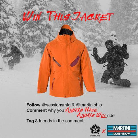 martini skate and snow, sessions outerwear, sessions pants, sessions jackets