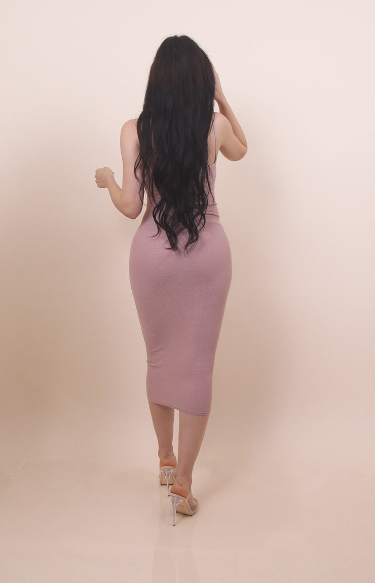 'MELLA' Tank Dress - Pink