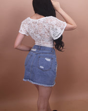 'JENNY' Denim Skirt