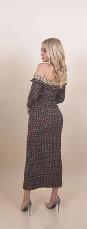 'ROCCO' Tweed Blazer Dress