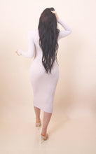 Load image into Gallery viewer, 'ALINA' Turtle neck Dress - Nude