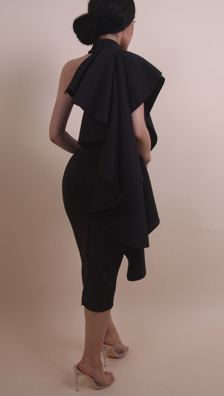 'RANICA' Dress - Black