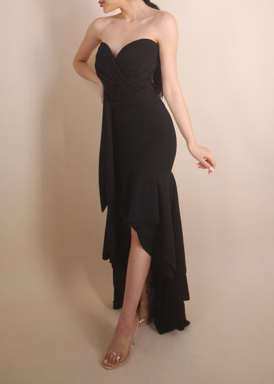 'SWEETHEART' Black Gown