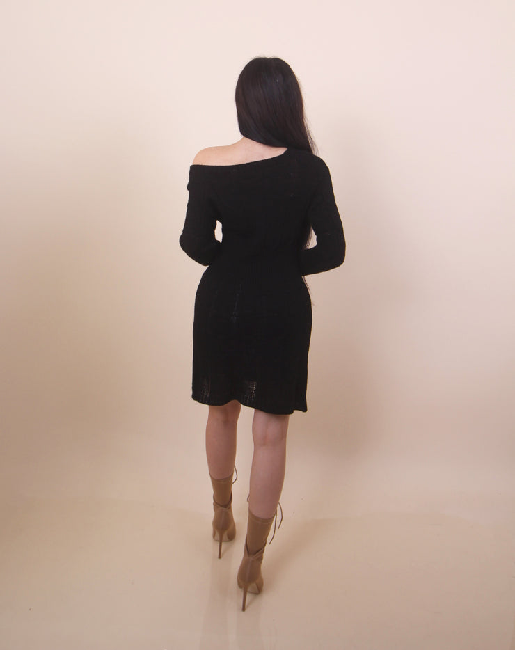 'JAYDA' Sweater Dress
