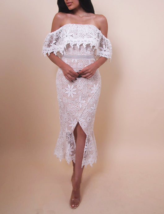 'KAYLEE' Crochet Dress