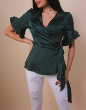 Load image into Gallery viewer, 'OLIVIA' Emerald Top