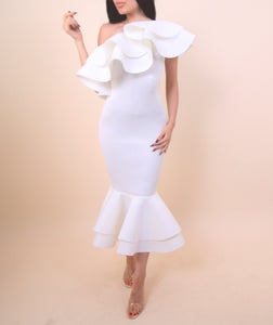 'Dance Me To The Moon' White Dress