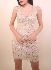 'STACI' Sequin Dress