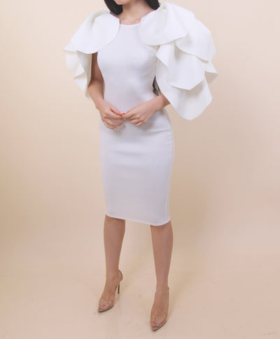 White Angel Wings Dress
