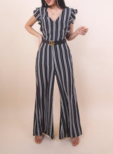 Load image into Gallery viewer, 'JENNA' Striped Jumpsuit